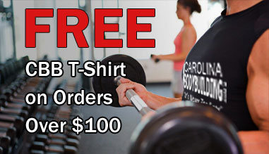 Carolina Bodybuilding Fitness T-shirt Free