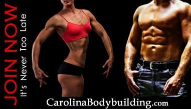 join carolina bodybuilding Today