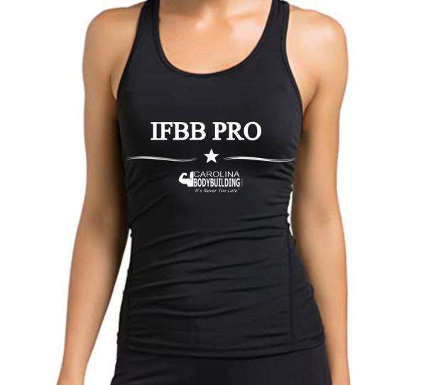 On sell IFBB PRO Black Racerback Tanks Top