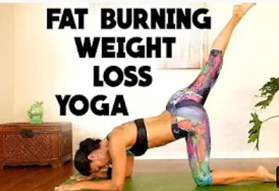 Yoga Workout for Weight Loss & Belly Fat (For Beginners)