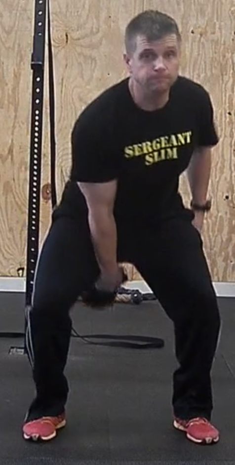 Kettle Bell Moves – Hand-to-Hand Swing