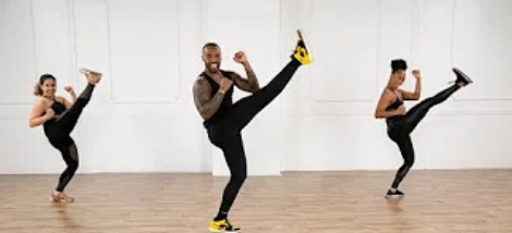 Dance and Cardio Kickboxing Workout (30-Minute)