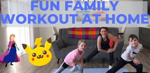 At Home Family Workout