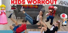 Kids Super Mario Workout