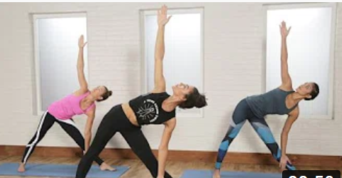 Power Yoga Flow For Tight Abs and Tone Butt