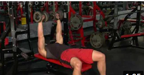 How to Do a Flat Dumbbell Press