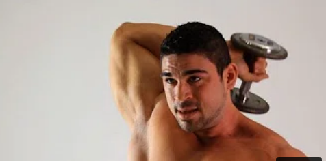 Dumbbell Tricep Extension How To