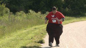 walking exercising