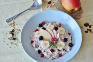 oatmeal, clean eating, meals for one, health and fitness, healthy eating