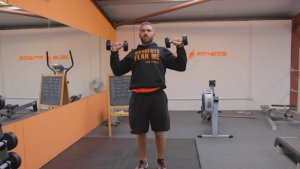 Home Dumbbell 20-Minute Full Body Toning Workout