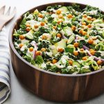 kale salad, protein rich salad, healthy eating, weight loss, power salad