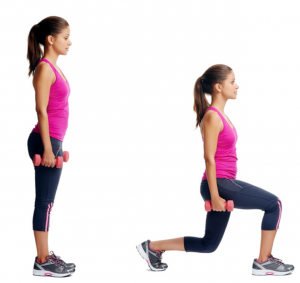 lunges, metabolism, fat to fit, health and fitness, exercise, butt exercises, weight training
