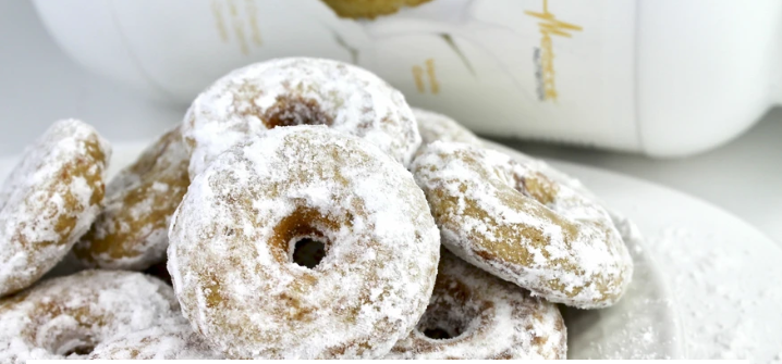 powdered donuts, healthy eating, fat to fit, fitness, protein, low carb