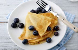 high protein crepes, high protein breakfast, fitness, weight loss, healthy eating