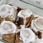 healthy living, healthy eating, protein, cinnamon rolls