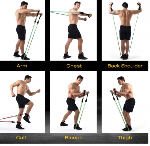 Resistance Bands, resistance workouts, strength training, band workout