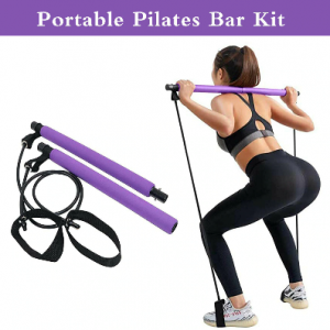resistance bands, yoga, crossfit, pilates bar, metabolism, fitness, exercise, fat to fit