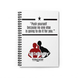 Motivational Notebook