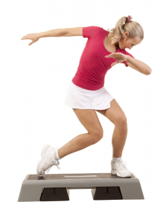 step aerobics, weight loss, fat to fit, fitness, burn calories