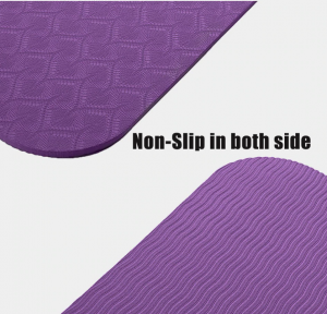 yoga mat, non-slip yoga mat, yoga exercise, yoga for anxiety, weight loss