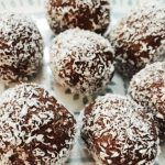 healthy protein cocoa balls, healthy protein desserts, weight loss, fit, fat to fit, protein desserts