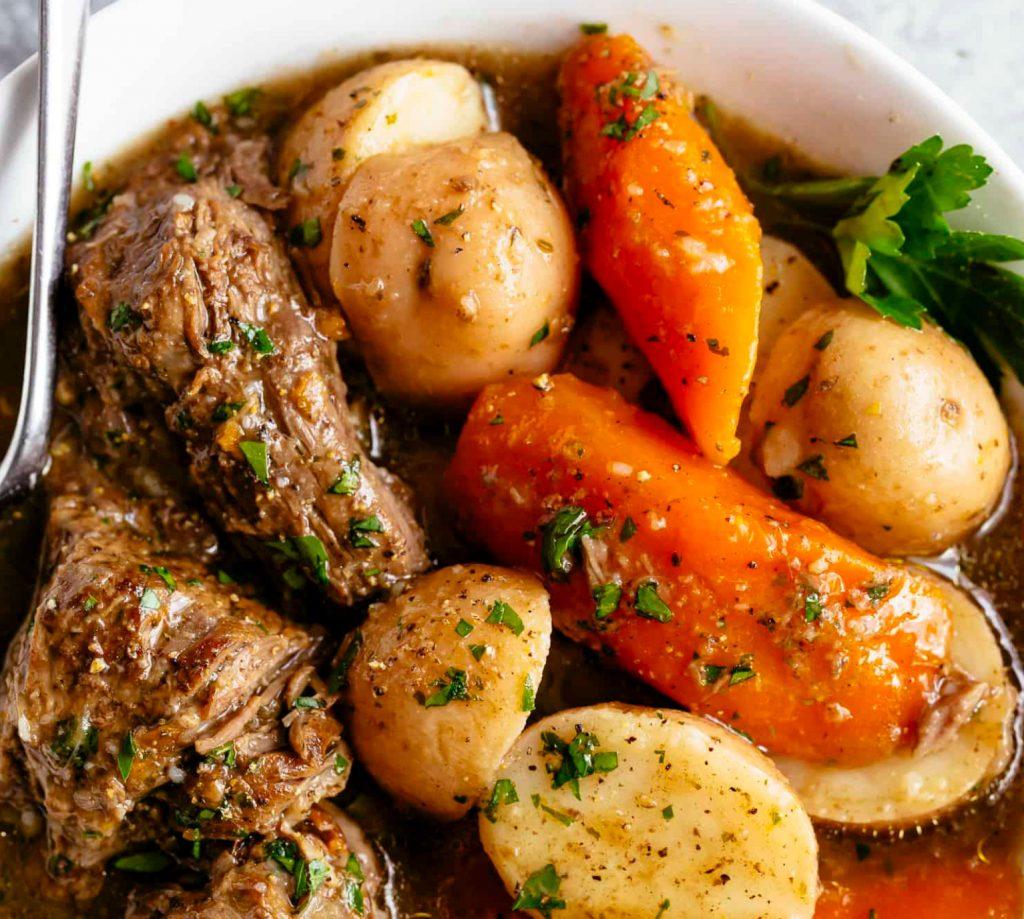pot roast, low calorie dinners, high protein dinners, tender pot roast