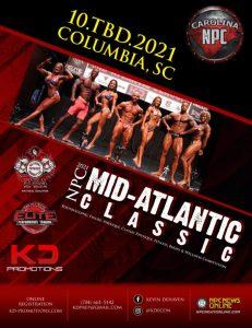 2021 Mid Atlantic Bodybuilding Classic