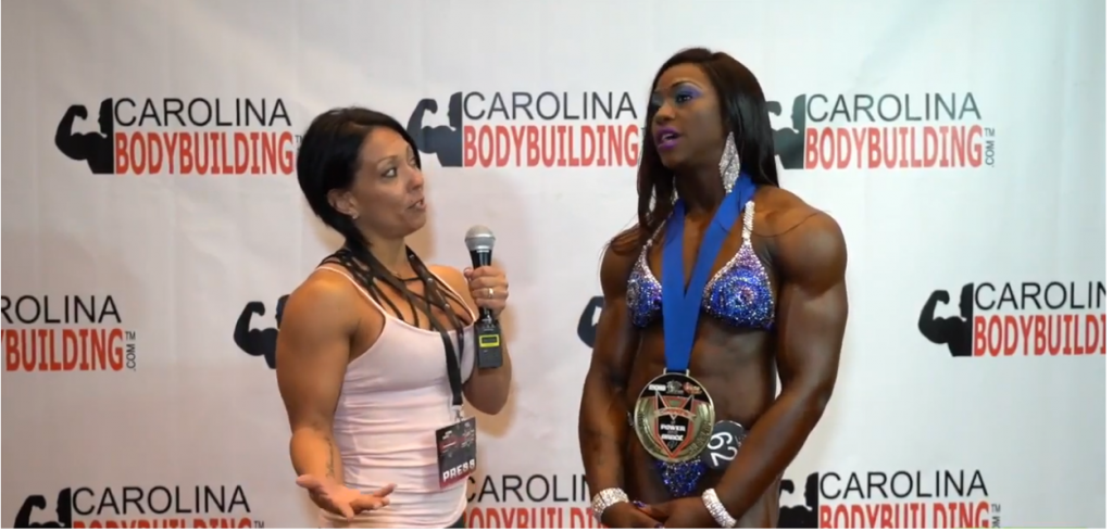 Sheronica Henton IFBB Wins The POWER AND GRACE