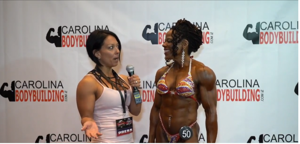 EVANGALINE BELTON IFBB PRO Wins Womens Physique Over 45